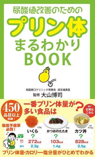 サンクチュアリ出版 「尿酸値改善のためのプリン体まるわかりBOOK」発売記念 『プリン体まるわりクイズ』